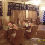 Dining Room in the evening