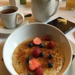 Penderyn glazed porridge
