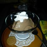 Dessert mousse choco