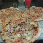 Pizzas at Barbarossa
