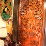 Puertas talladas en madera a mano | Wood carved door made by hand