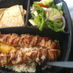 Chicken Kabob Dinner Plate