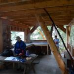 Manzanita Hut inside