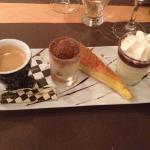 Excellent cafe gourmand