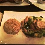 4 Veggie in Soy Ginger Favor & Brown Rice