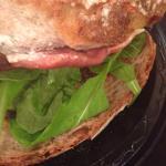 Prosciutto manchego sandwich