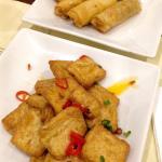 Tofu & spring roll starters