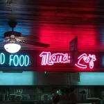 Neon Signs over the Chef's station