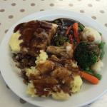 Some delicious homemade cottage pie with extra mash and thick gravy @ Snackbase..