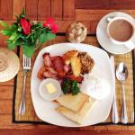 New Leaf Full Breakfast: $4   Nothing fancy. Would prefer Sister Srey Cafe for food ��