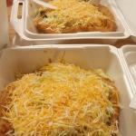 Fry bread tacos! I love the machaca fry bread.