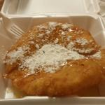 Fry bread dessert is yummy.