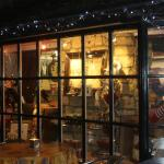 The christmas window.