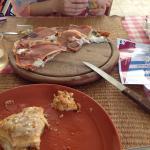 Это часть лазаньи и пиццы.