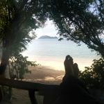 Aussicht vom Beachfront Zimmer 1
