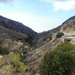 View of Imbros Gorge