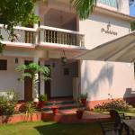 Anjuna hostel exterior view