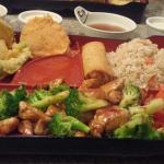 Spicy Chicken Dinner Bento Box
