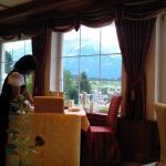 Panorama visto dalla sala ristorante
