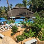 Hotel from the sunbathing platform