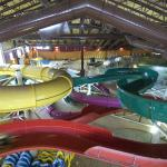 Kahuna Laguna 40,000 sq.ft. indoor water park at the resort