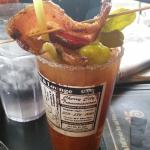 The Bacon Bloody Mary. OMG!