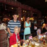 Inside Unos - Wonderful Rehearsal Dinner