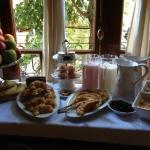 Café da manhã muito gostoso