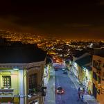 View from Rooftop Bar ~ Calle Vicente Leon & South Quito