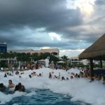 Foam Party in the Pool