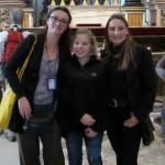 Maria, Madison, & Lisa at St. Peter's Basilica