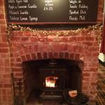 Enjoy one of our puddings (if you have room!) in front of the lovely fire