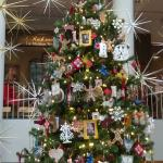 14 foot tree inside the museum atrium