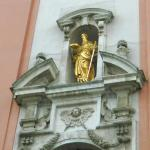 St.Paul's statue above the main entrance