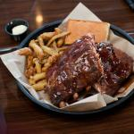 Ribs and pickle fries
