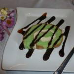 Free green tea cake for Mother's Day
