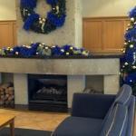 Love the reception area