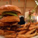 paniolo burger with avocado