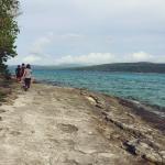 Hiking around the island