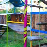 Children's play area in the garden