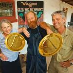 Two Gold plates for 2012!