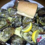 Their famous charbroiled oysters...yummy