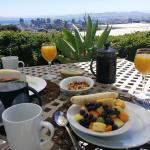 Blick von der Terrasse aus über die Cape Town