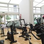 Gym on the roof, 5th floor