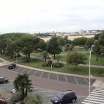 Jardin face à l'hotel