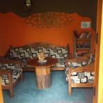 een rustige leeshoek (bibliotheek)