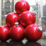 Christmas decoration, New York size