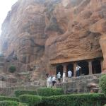 the 6th centuary I Badami rock cave