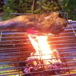 New Zealand Spit Roast Leg of Lamb