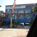 Island Trading Post is under Steamers - need bigger sign